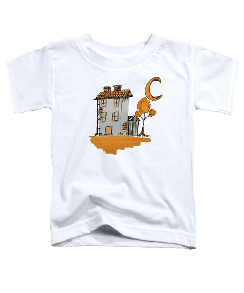House And Moon Toddler T-Shirt