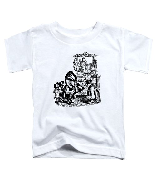 House Guest Cat Grandville Transparent Background Toddler T-Shirt