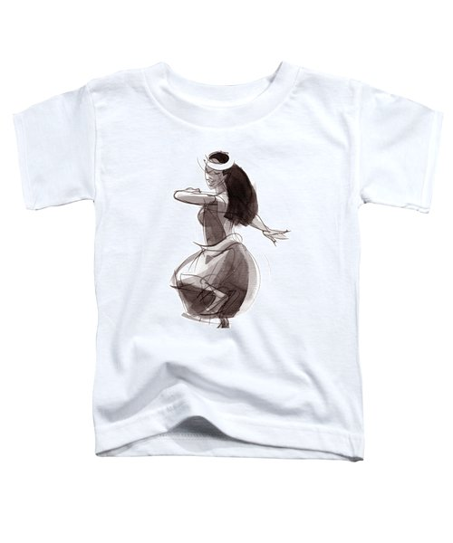 Hula Dancer Olina Toddler T-Shirt