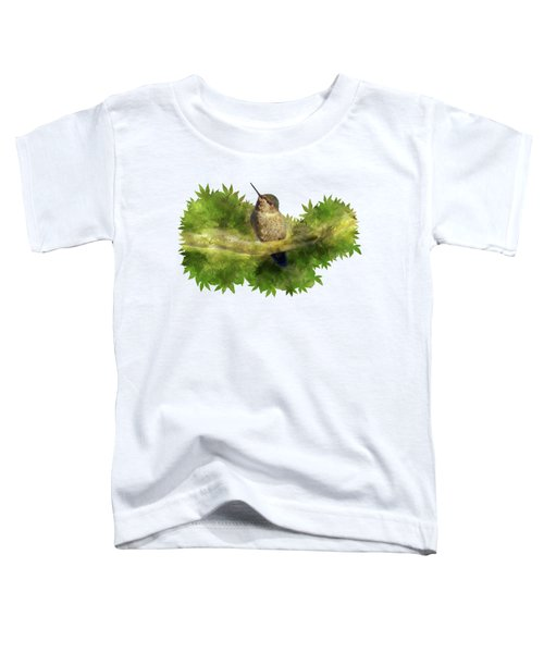 Hummingbird In A Tree Toddler T-Shirt