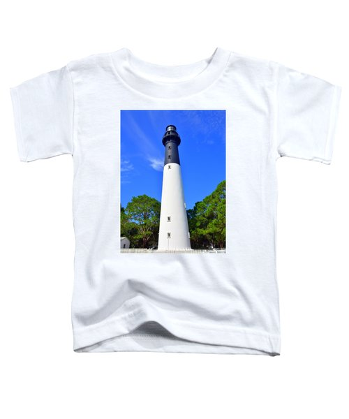 Hunting Island Lighthouse Beaufort Sc Toddler T-Shirt