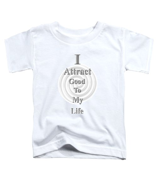 I Attract Silver Toddler T-Shirt