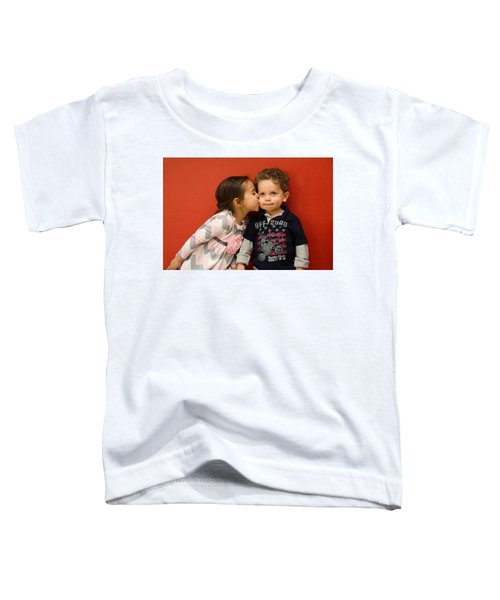 I Give You A Kiss Toddler T-Shirt