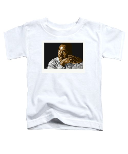 Toddler T-Shirt featuring the digital art I Have A Dream . . . by Antonio Romero