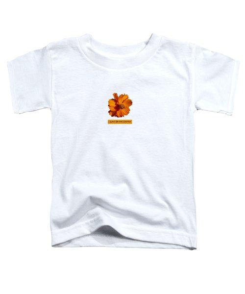 I Love Orange Cosmos 2018-1 Toddler T-Shirt