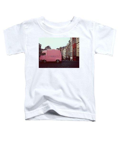 Ice Cream Car Toddler T-Shirt