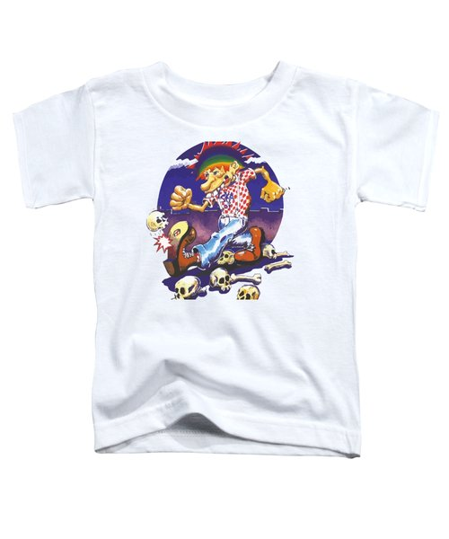 Ice Cream Kid Ska Toddler T-Shirt