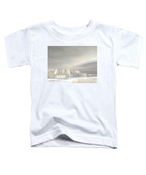 Icebergs - 3d Render Toddler T-Shirt