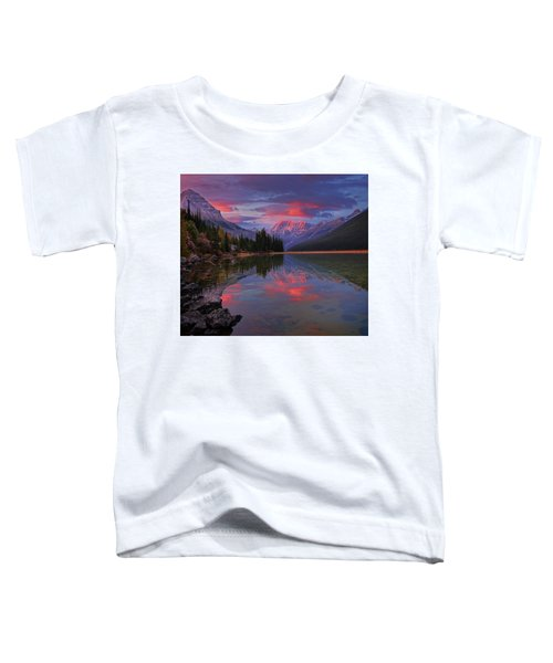 Icefields Parkway Autumn Morning Toddler T-Shirt