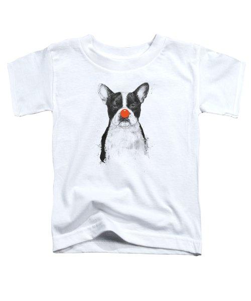 I'm Not Your Clown Toddler T-Shirt