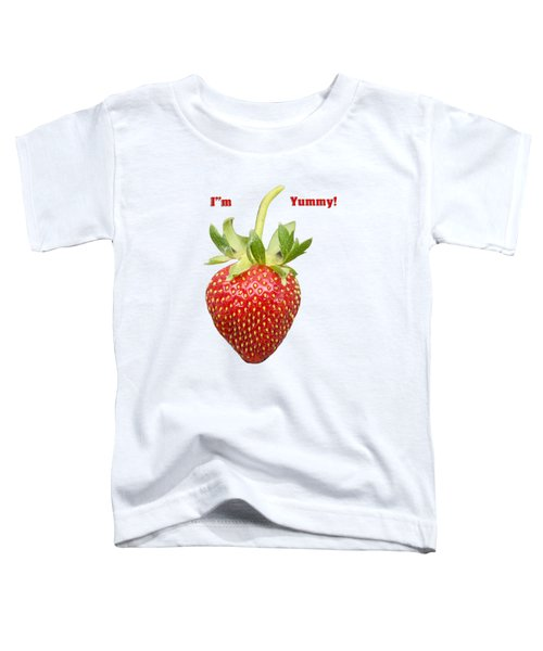 Im Yummy Toddler T-Shirt by Thomas Young