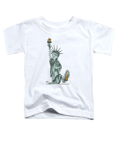Immigration And Liberty Toddler T-Shirt