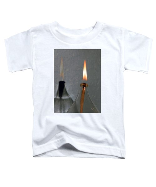 Impossible Shadow Oil Lamp Toddler T-Shirt