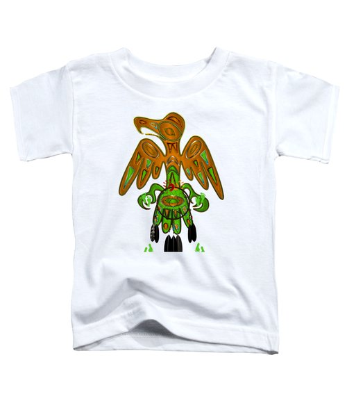 Imprint Native American Toddler T-Shirt by Sharon and Renee Lozen