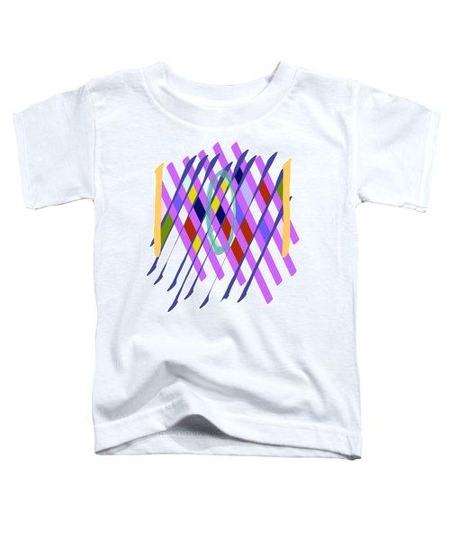Improvised Geometry #1 Toddler T-Shirt