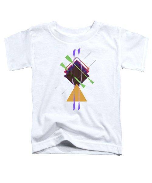 Improvised Geometry #3 Toddler T-Shirt