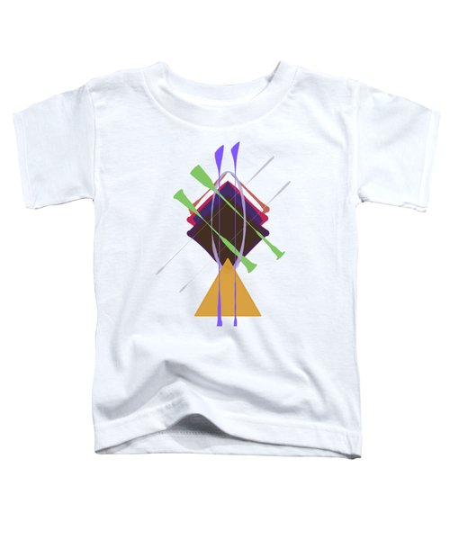 Improvised Geometry #3 Toddler T-Shirt