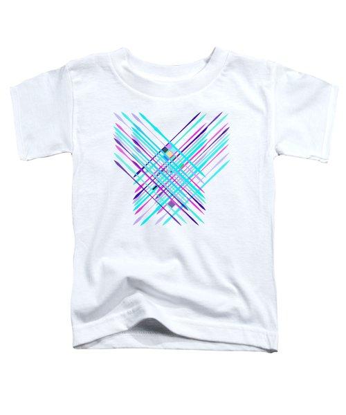 Improvised Geometry #2 Toddler T-Shirt