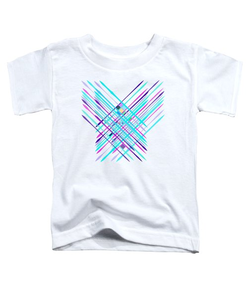 Improvised Geometry #2 Toddler T-Shirt