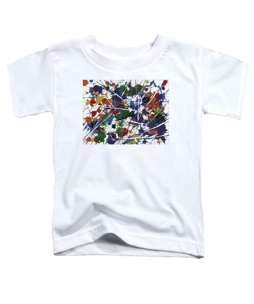 In Glittering Rainbow Shards Toddler T-Shirt