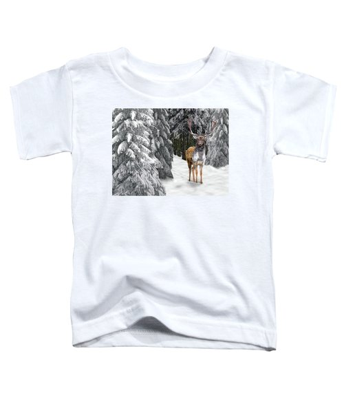 In The Bleak Midwinter Toddler T-Shirt
