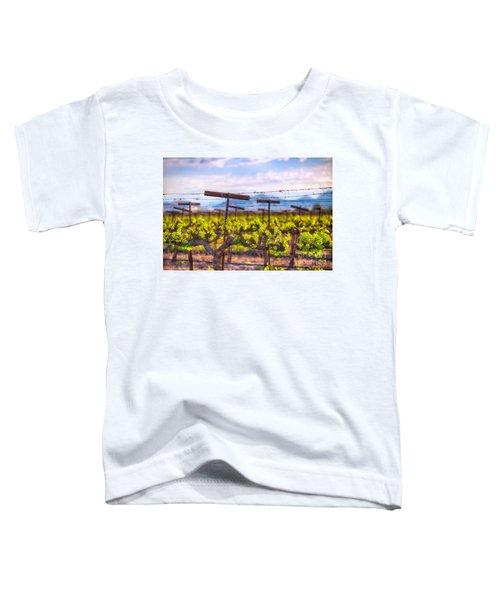 In The Vineyard Toddler T-Shirt