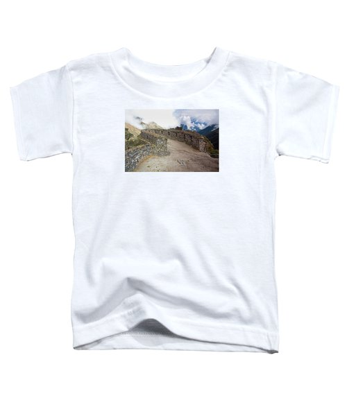 Inca Ruins In Clouds Toddler T-Shirt