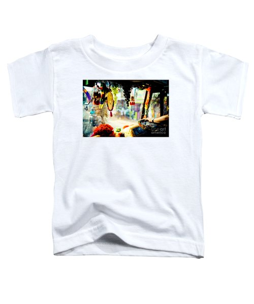 Indian Street From Window In The Bus Kerala India Toddler T-Shirt