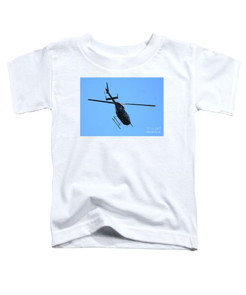 Indiana State Police Helicopter - Overhead Toddler T-Shirt
