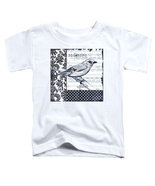 Indigo Vintage Songbird 1 Toddler T-Shirt