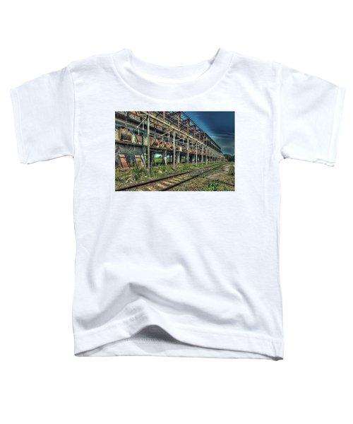 Industrial Archeology Railway Silos - Archeologia Industriale Silos Ferrovia Toddler T-Shirt