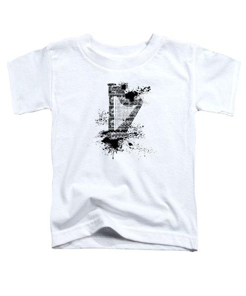 Inked Harp Toddler T-Shirt