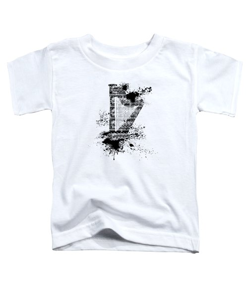 Inked Harp Toddler T-Shirt