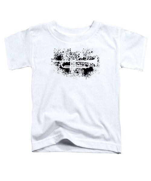 Inked Trumpet Toddler T-Shirt