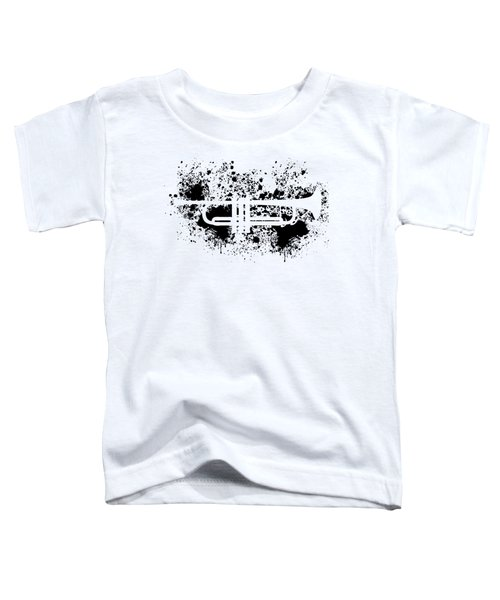 Inked Trumpet Toddler T-Shirt