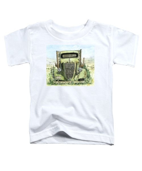 Inktober 2017 No 3 Clr Toddler T-Shirt