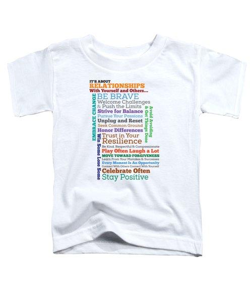Inspirational Manifesto Toddler T-Shirt