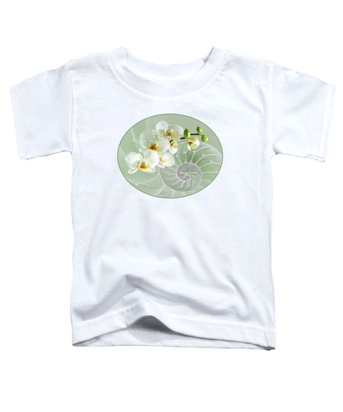 Intimate Fusion In Cool Green Toddler T-Shirt