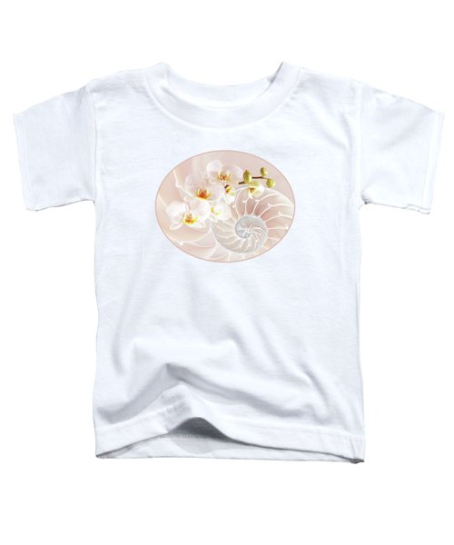 Intimate Fusion In Soft Pink Toddler T-Shirt
