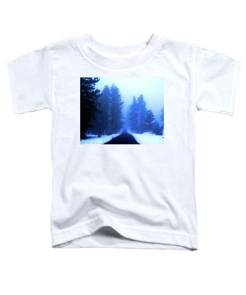 Into The Misty Unknown Toddler T-Shirt