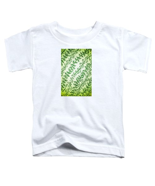 Into The Thick Of It, Green Toddler T-Shirt