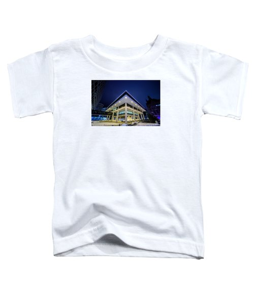 Inverted Pyramid Toddler T-Shirt by Randy Scherkenbach