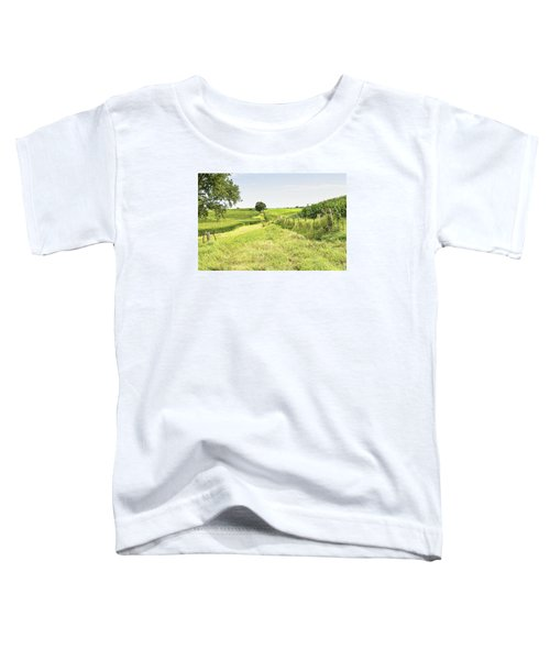 Iowa Corn Field Toddler T-Shirt