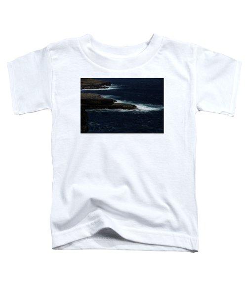 Ireland Inishmore Aran Island Coastal Landscape Toddler T-Shirt