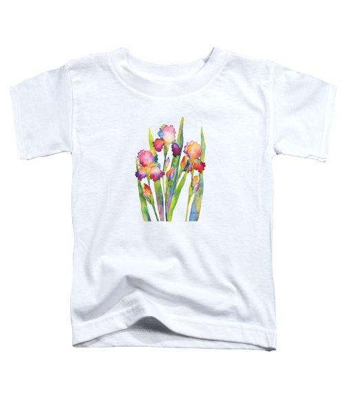 Iris Elegance Toddler T-Shirt by Hailey E Herrera
