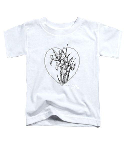 Iris Heart Drawing 3 Toddler T-Shirt