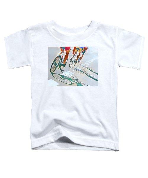 Iron Man Triathlon Toddler T-Shirt