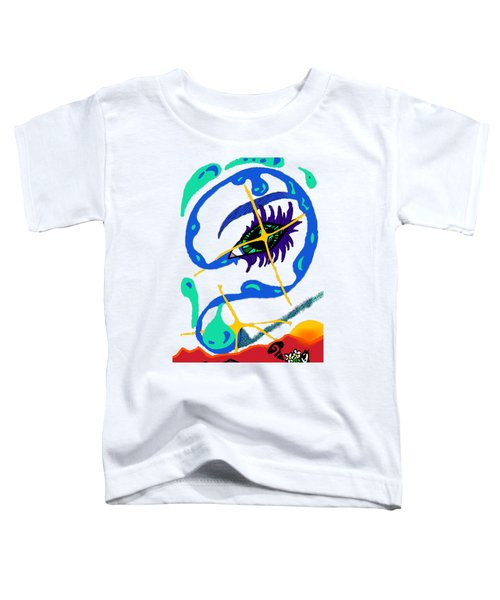 iseeU Toddler T-Shirt by Flyn Phoenix