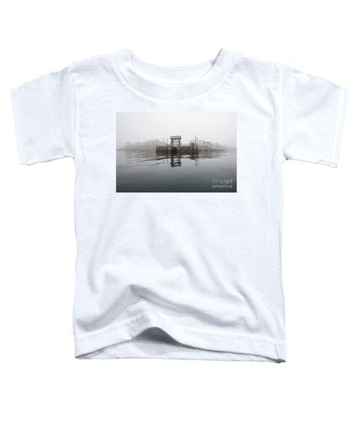 Island Boat Dock Toddler T-Shirt