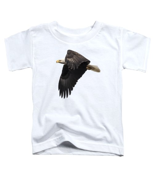 Isolated American Bald Eagle 2016-6 Toddler T-Shirt